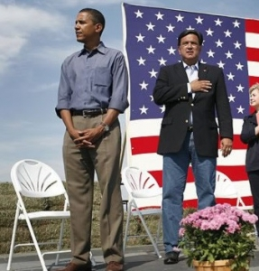 What American wouldn't pledge their allegiance to the United States of America? Obama Won't!