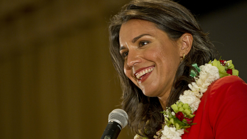Tulsi Gabbard, Trump, foreign policy