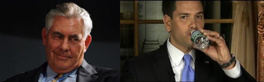 rex tillerson vs marco rubio