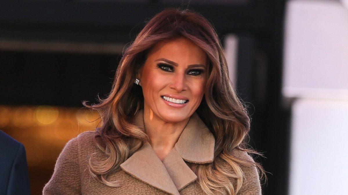 Melania Trump Rips Fake News Vanity