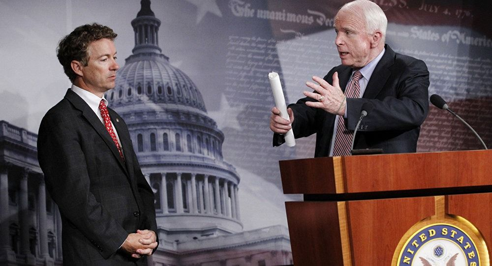 McCain Booed At Turning Point Event After Being Called Out By Rand Paul | The Liberty Conservative